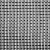 De grijze achtergrond van het tegelsdak Royalty-vrije Stock Afbeeldingen