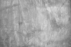 De grijze achtergrond van de de muurtextuur van het kleurencement concrete, detail van ruwe gipspleister en oude grungesamenvatti royalty-vrije stock foto's
