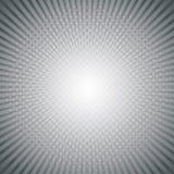 De grijze achtergrond van zonstralen met halftone Vector illustratie stock illustratie