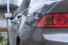 De grijze auto stock foto's