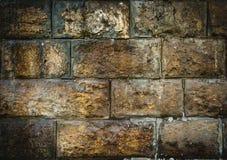 De grijze baksteen van de steenmuur Royalty-vrije Stock Fotografie
