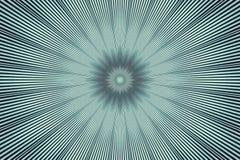 De grijze bloemencaleidoscoop van het bloempatroon ceramisch zilver stock illustratie