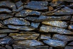 De grijze kleur van het steenpatroon van moderne stijl Royalty-vrije Stock Afbeeldingen