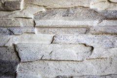 De grijze Muur van de Steen Stock Afbeelding