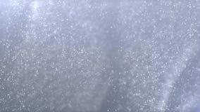 De grijze onduidelijk beeldsamenvatting schiet Lijnen Stromende Vliegende Fractal Deeltjesachtergrond weg vector illustratie