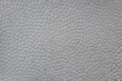 De grijze ronde muur van de kiezelsteensteen Stock Afbeeldingen