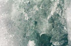 De grijze samenvatting van het centrumijs Stock Afbeelding