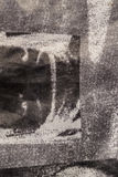 De grijze textuur van de denimstof Royalty-vrije Stock Fotografie