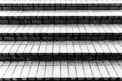 De grijze treden van het steengraniet Geweven Achtergrond Sluit omhoog beeld stock afbeeldingen