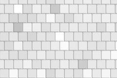 De grijze vierkante achtergrond van de patroontextuur Stock Afbeelding
