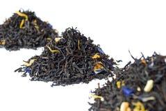 De grijze zwarte thee van de Graaf die op wit wordt geïsoleerdu stock afbeelding