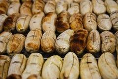 De grill van de banaan Royalty-vrije Stock Foto's