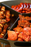 De grill van de barbecue Royalty-vrije Stock Afbeeldingen