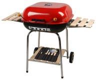 De grill van de barbecue. Knippende weg Stock Afbeelding