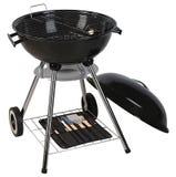De grill van de barbecue. Knippende weg Stock Foto