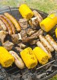 De grill van de de zomerbarbecue Stock Fotografie
