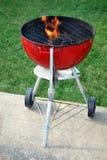 De grill van de houtskool Royalty-vrije Stock Afbeelding