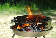 De grill van de ketel stock afbeelding