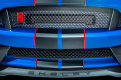 2017 de Grill van Ford Shelby Mustang GT350R Stock Foto
