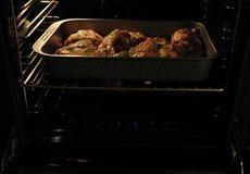De grill van het lam in oven royalty-vrije stock fotografie