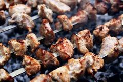 De grill van het vlees Stock Afbeeldingen