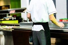 De grillmeester Stock Afbeelding