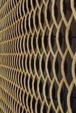De grillringen van het textuurmetaal stock foto