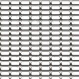 De grilltextuur van het metaal Stock Fotografie
