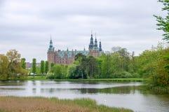 De groef van Frederiksborg Royalty-vrije Stock Foto's