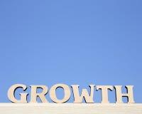 De groei royalty-vrije stock fotografie