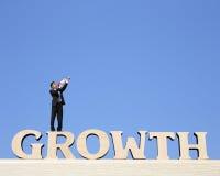 De groei bedrijfsconcept Royalty-vrije Stock Foto