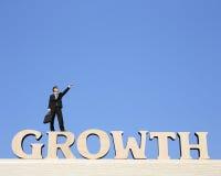 De groei bedrijfsconcept Royalty-vrije Stock Foto's