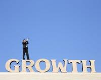De groei bedrijfsconcept Stock Foto's