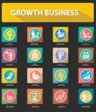 De groei, Bedrijfsconcept, Menselijke hulpbron Royalty-vrije Stock Foto