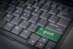 De groei is de Sleutel royalty-vrije stock afbeeldingen