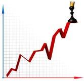 De groei van de carrière Stock Illustratie