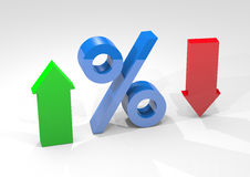 De groei van de dollar Stock Afbeelding