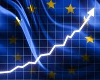 De groei van de EU Stock Foto