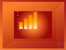 De groei van de grafiek Royalty-vrije Stock Foto's