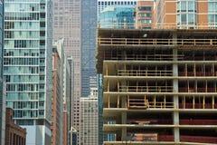 De groei van de stad Royalty-vrije Stock Foto's