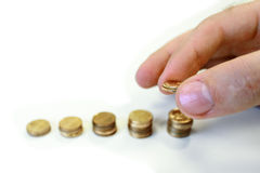 De groei van het geld Stock Afbeelding