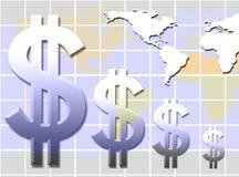 De groei van het inkomen royalty-vrije illustratie