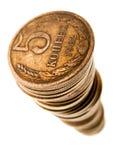 De groei van het muntstuk royalty-vrije stock foto