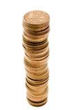 De groei van het muntstuk stock foto
