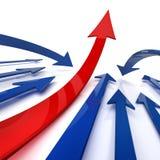 De groei van uw zaken. 3d. Royalty-vrije Stock Afbeeldingen