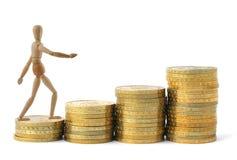 De groei van winsten royalty-vrije stock afbeelding