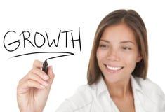 De groei in zaken Stock Foto