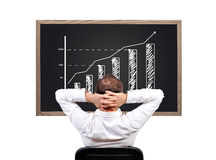 De groeiklusje Royalty-vrije Stock Foto's