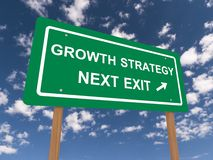 De groeistrategie Royalty-vrije Stock Foto