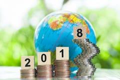 De groeizaken en voltooiingsconcept Stock Fotografie